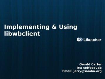 Gerald Carter PDF - sambaXP