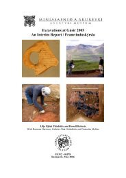 Excavations at Gásir 2005 An Interim Report ... - Nabo