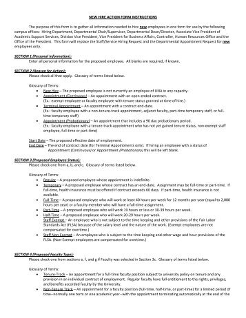 personnel action form work instruction (hrs-w001) - Dougherty ...