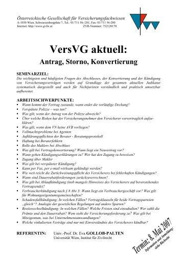 Österreichische Gesellschaft für Versicherungsfachwissen
