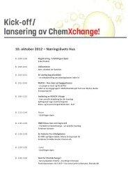 10. oktober 2012 – Næringslivets Hus - NHO