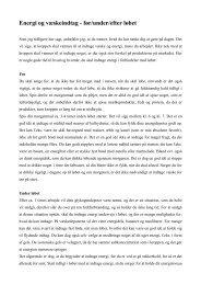 Energi og væskeindtag - før/under/efter løbet - Aarhus Motion