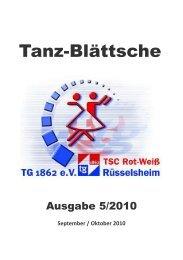 Ausgabe 5/2010 - TSC Rot-Weiß Rüsselsheim