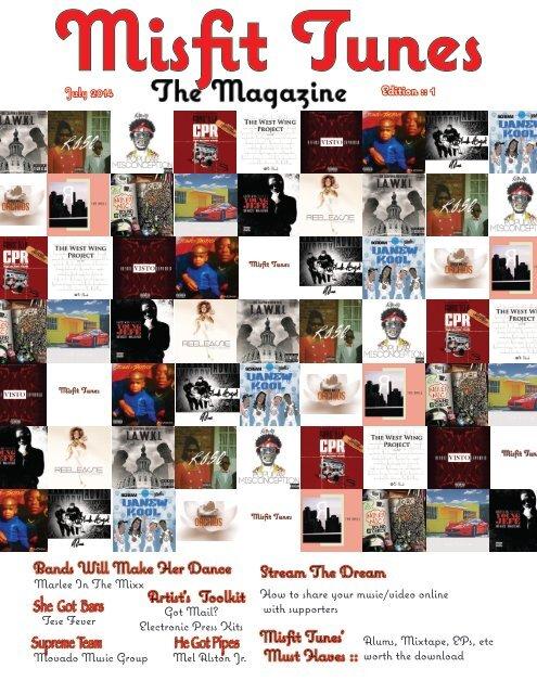 Misfit Tunes The Magazine July 2014
