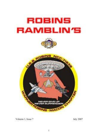 ROBINS RAMBLIN'S - USS Robins