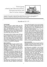 Rundbrief 3/2007 - Ehemalige der Martin-Luther-Schule