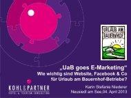 Download Vortrag Karin Niederer - Urlaub am Bauernhof