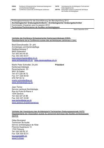 Prüfungskommission für die Durchführung der ... - VATG