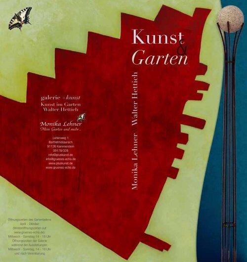 Kunst Garten - Monika Lehner