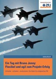 Ein Tag mit Bruno Jenny - ZfU International Business School