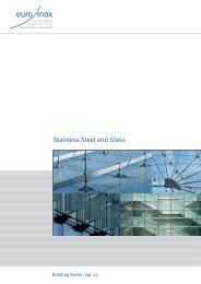 PDF: Stainless Steel and Glass - Euro Inox