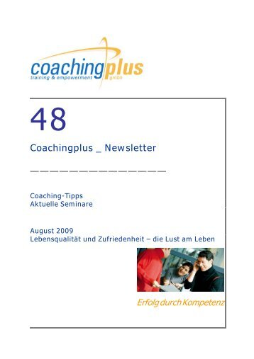Coachingplus _ Newsletter - Coaching-Point
