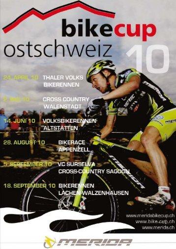 6. Merida BikeCup 2010 - Gesamtwertung nach Thal, Walenstadt ...