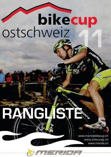 7. Merida BikeCup Ostschweiz 2011 - Gesamtwertung