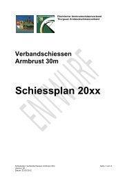 Schiessplan Verbandsschiessen (Entwurf 22.08.2012) - TASV