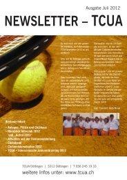 Juli 2012 - Tennis-Club Unteres Aaretal