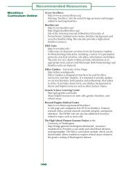 Recommended Resources - Northwest Association for Biomedical ...