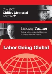 Labor Going Global - Australian Fabian Society