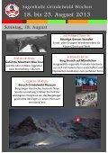 Sagenhafte Grindelwald Wochen 2013 August - Hotel Belvedere ... - Seite 3