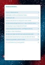 Inhaltsverzeichnis - DGB Mittelfranken