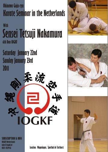 Nakamura 2007AB_UK - Okinawa Goju-Ryu Göttingen
