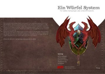 Grundlagen Eigenschaften - Ein Würfel System