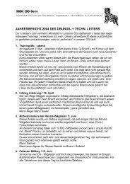 UL / TL Bericht 2004 - Schweizerischer Briard Club