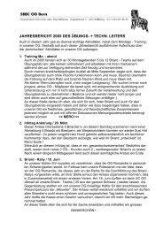 UL / TL Bericht 2005