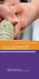 Zupackend - Leitbild für Diakoninnen und Diakone