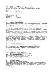 Protokoll GV 2010 f - Schweizerischer Briard Club