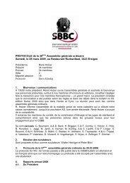 AG Protokoll 2009 f - Schweizerische Briard Club