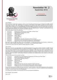 Newsletter Nr. 2 - Schweizerische Briard Club