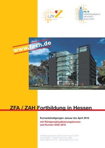 ZFA/ZAH - FAZH