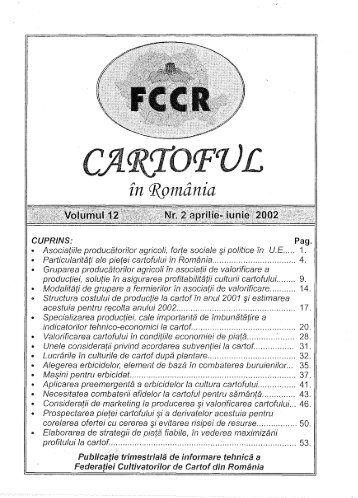 cartoful in RO vol12nr2.pdf - Institutul National de Cercetare ...