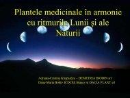15.00 - 15.15 Adriana Cristina Khapardey, Dana Maria Bobiţ ...