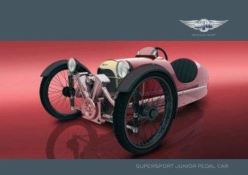 pedal car brochure