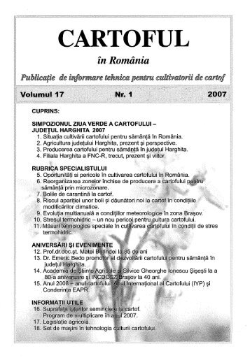 cartoful in RO vol17nr1.pdf - Institutul National de Cercetare ...