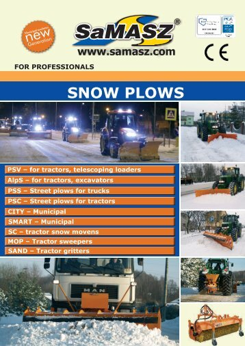 SNOW PLOWS - Samasz