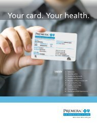 Your card. Your health. - Wallace Insurance Group