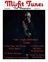 Misfit Tunes The Magazine September 2014