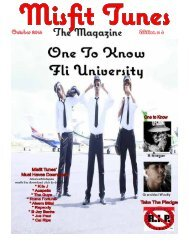 Misfit Tunes The Magazine October 2014