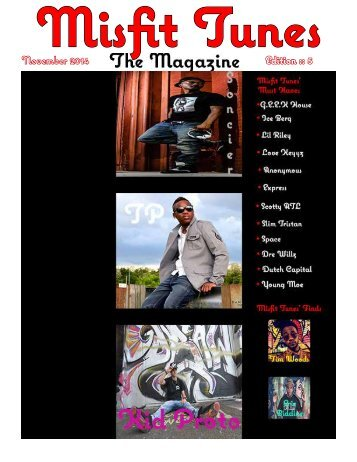 Misfit Tunes The Magazine November 2014