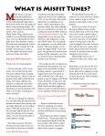 Misfit Tunes The Magazine November 2014 - Page 5