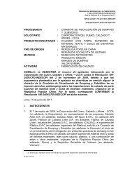 procedencia : comisión de fiscalización de dumping y ... - Indecopi