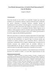 5. Una mirada interamericana A la Justicia Penal Internacional