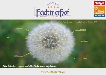 Prospekt download - Hotel Feichtnerhof