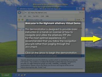 Highmark eDelivery Virtual Demonstration