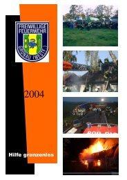 Hilfe grenzenlos - bei der Feuerwehr Gronau