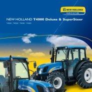 NEW HOLLAND T4000 Deluxe & SuperSteer