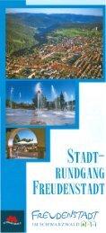 Stadtrundgang zum Download (5 MB) - Ferien in Freudenstadt